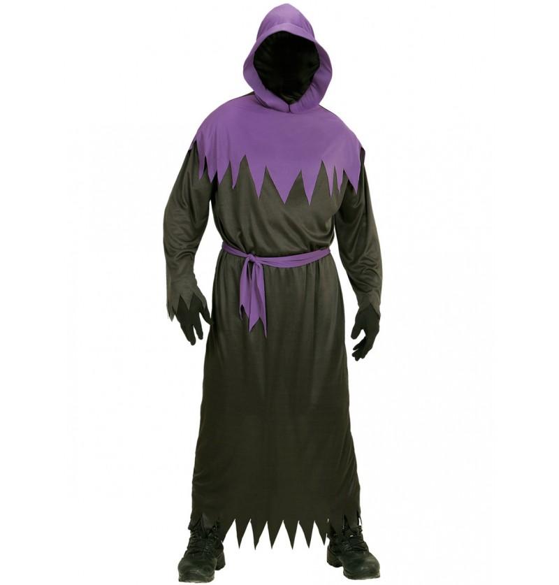 Disfraz de muerte de la oscuridad para hombre talla grande