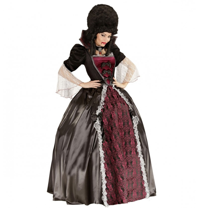 Disfraz de vampiresa para mujer talla grande