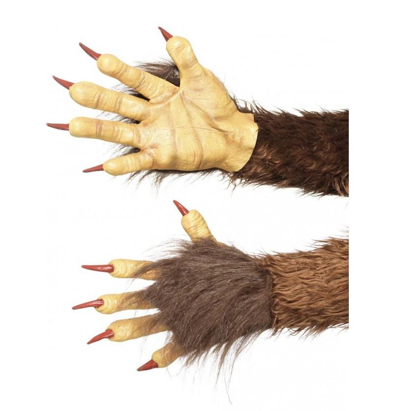 guantes de krampus para adulto
