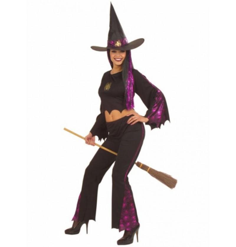 Disfraz de bruja vanidosa para mujer