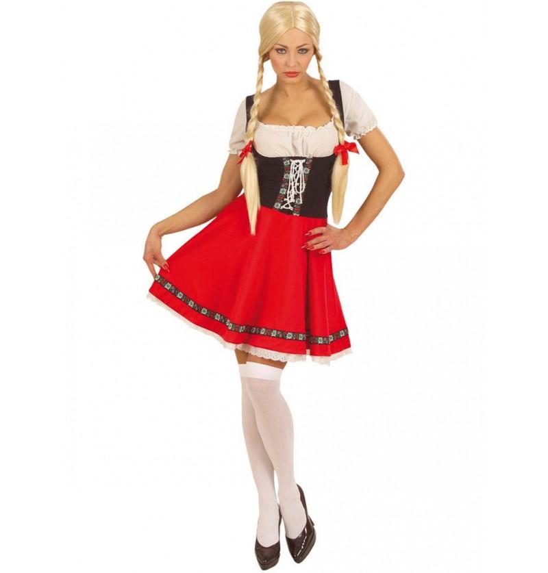 Disfraz de Heidi sexy para mujer