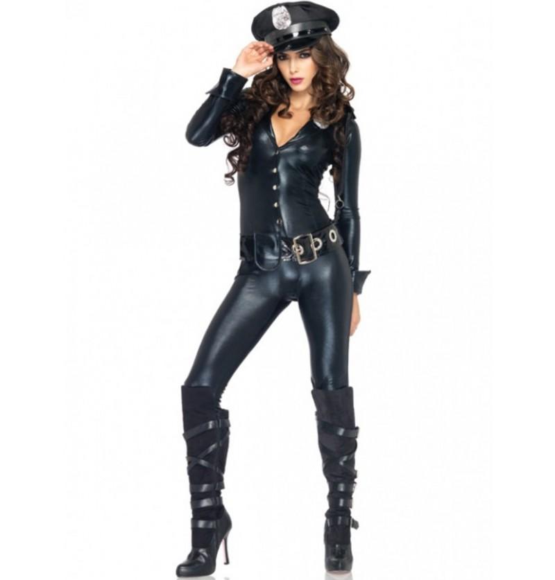 Disfraz de oficial de policía sexy para mujer
