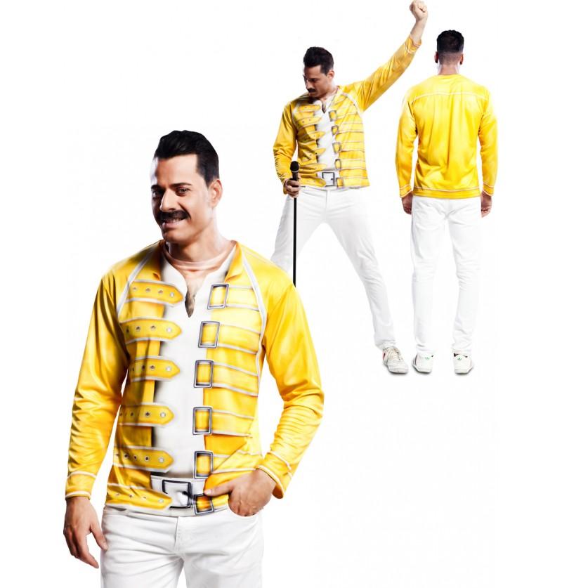 Camiseta de cantante Mercury Queen para hombre