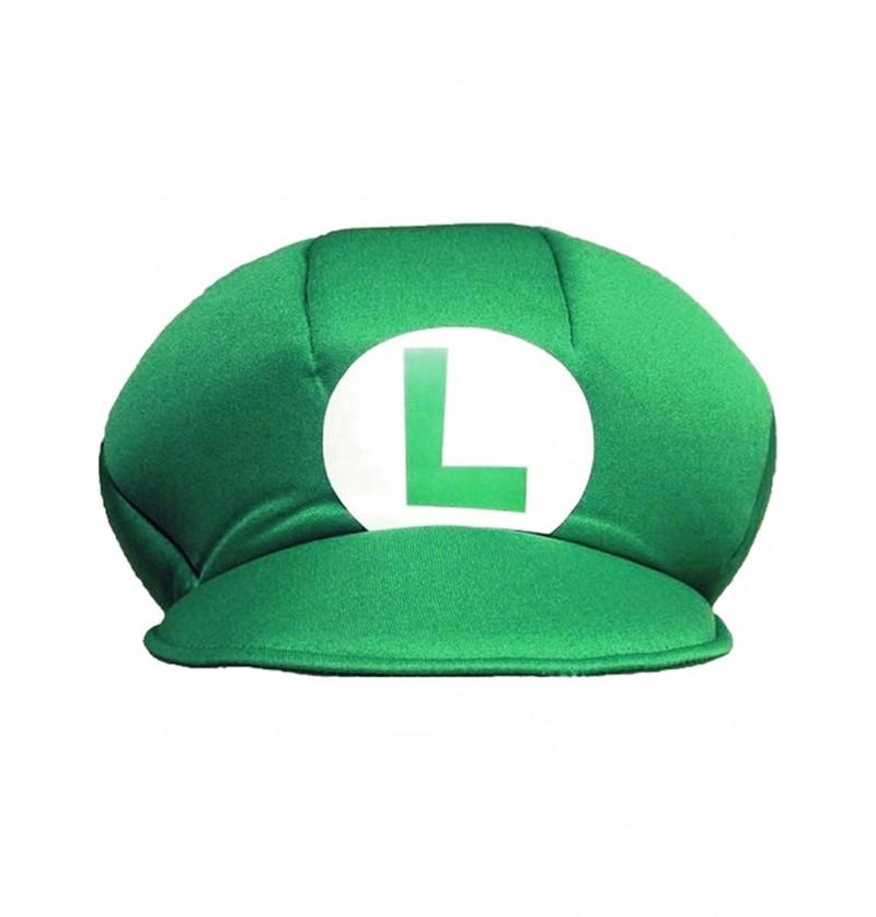 Gorro de Luigi para niño