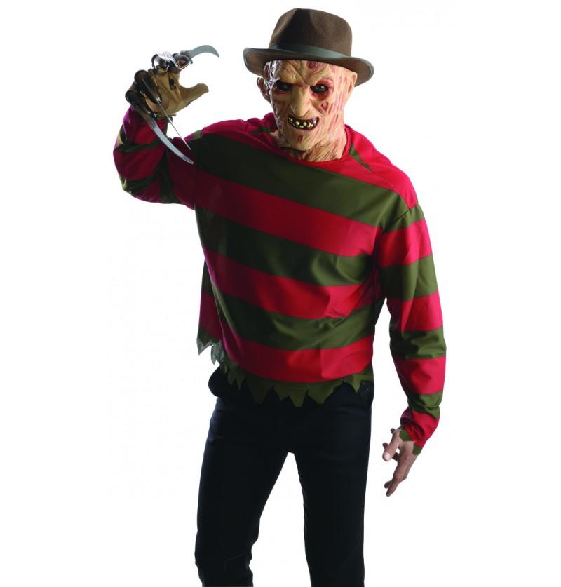 Kit disfraz de Freddy Krueger Pesadilla en Elm Street para hombre
