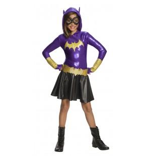 disfraz de batgirl para nia deluxe dc super hero girls