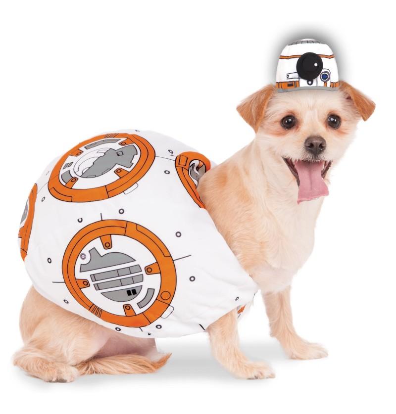 disfraz de bb 8 para perro star wars