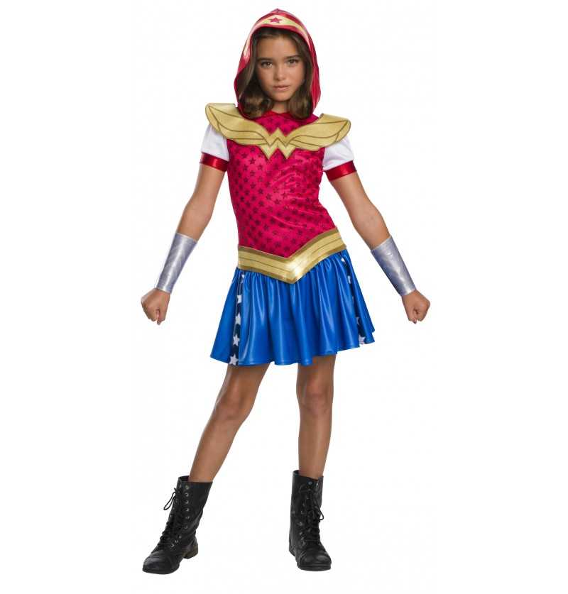 disfraz de wonder woman para nia dc superhero girls