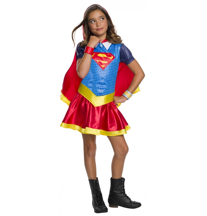 disfraz de supergirl para nia dc superhero girls