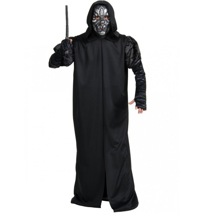 Disfraz de Mortífago Harry Potter para hombre