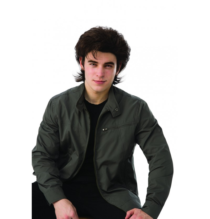 peluca de steve para hombre stranger things