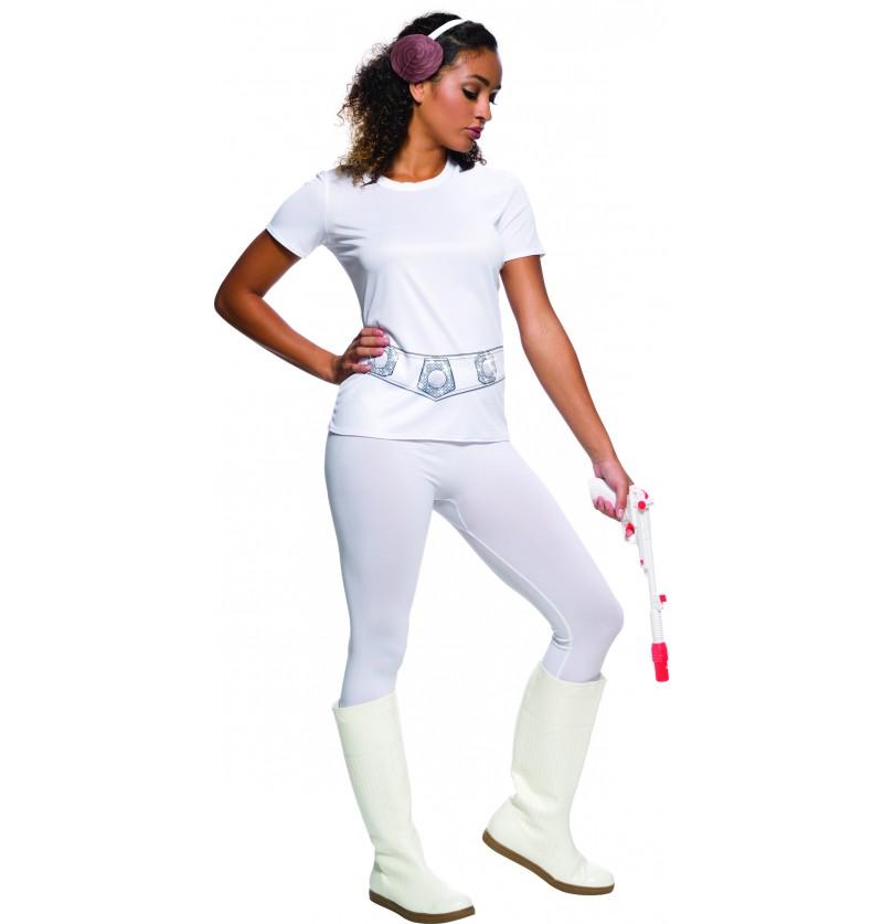 disfraz de princesa leia para mujer star wars