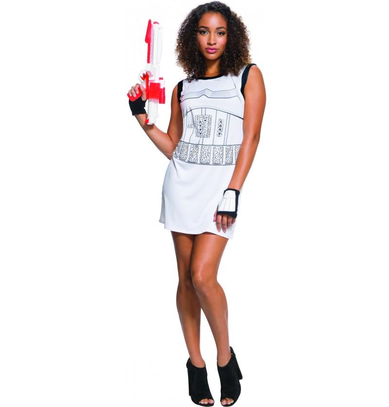 vestido de stormtrooper para mujer star wars