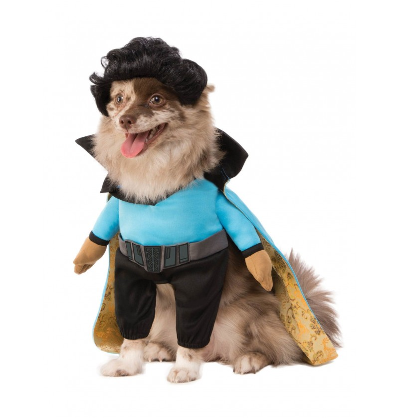 disfraz de lando calrissian para perro han solo una historia de star wars
