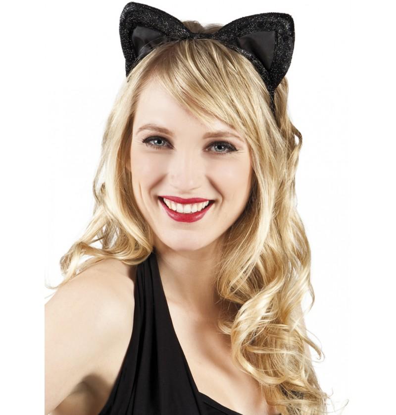 Orejas de gatita para mujer