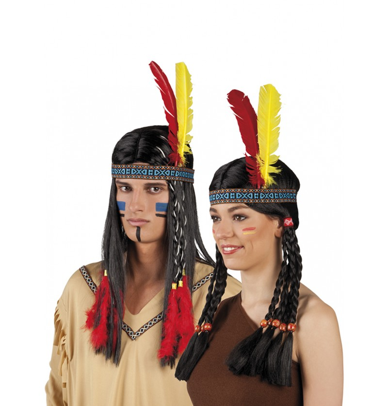 Tocado indio de la tribu unisex