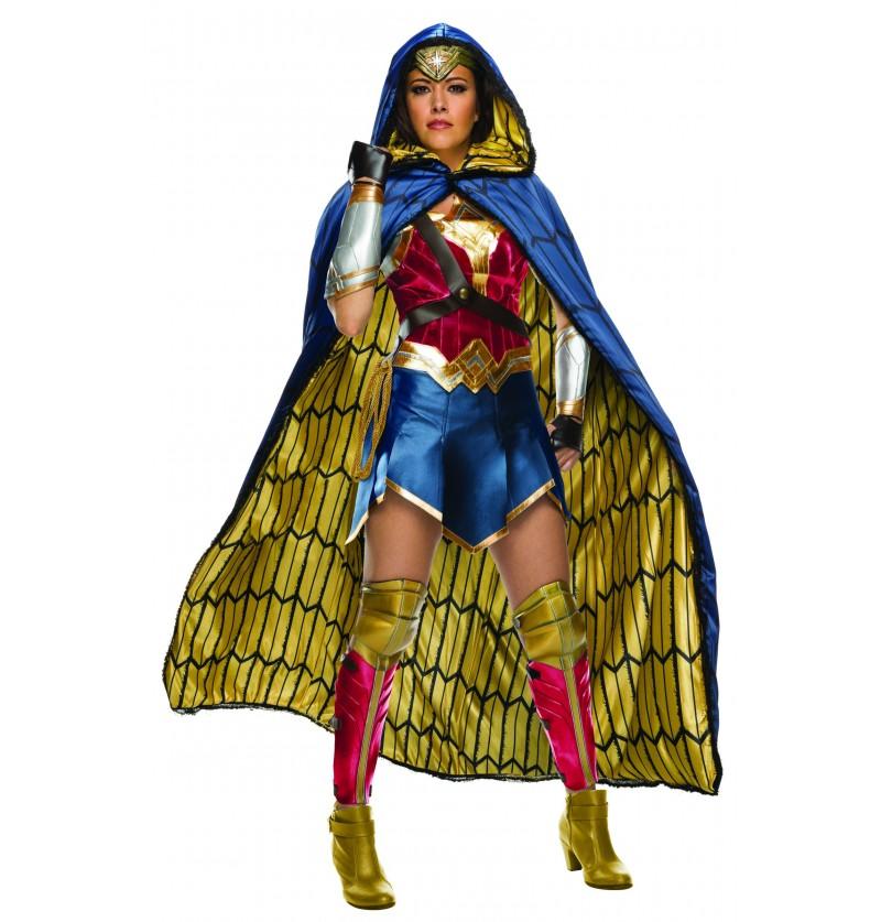 disfraz de wonder woman grand heritage para mujer liga de la justicia