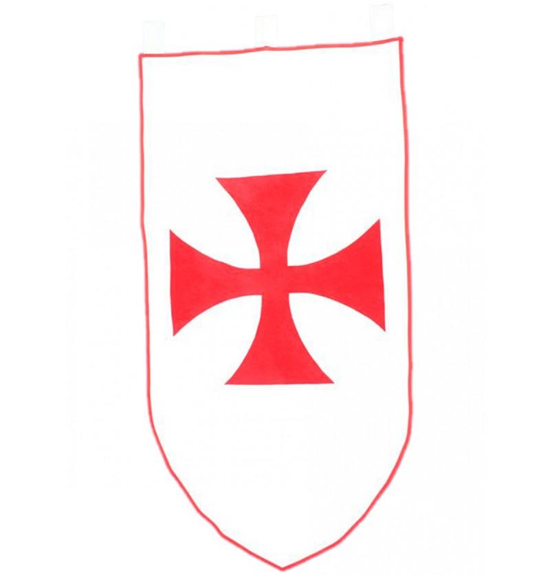 Estandarte medieval luchador 75 x 135 cm