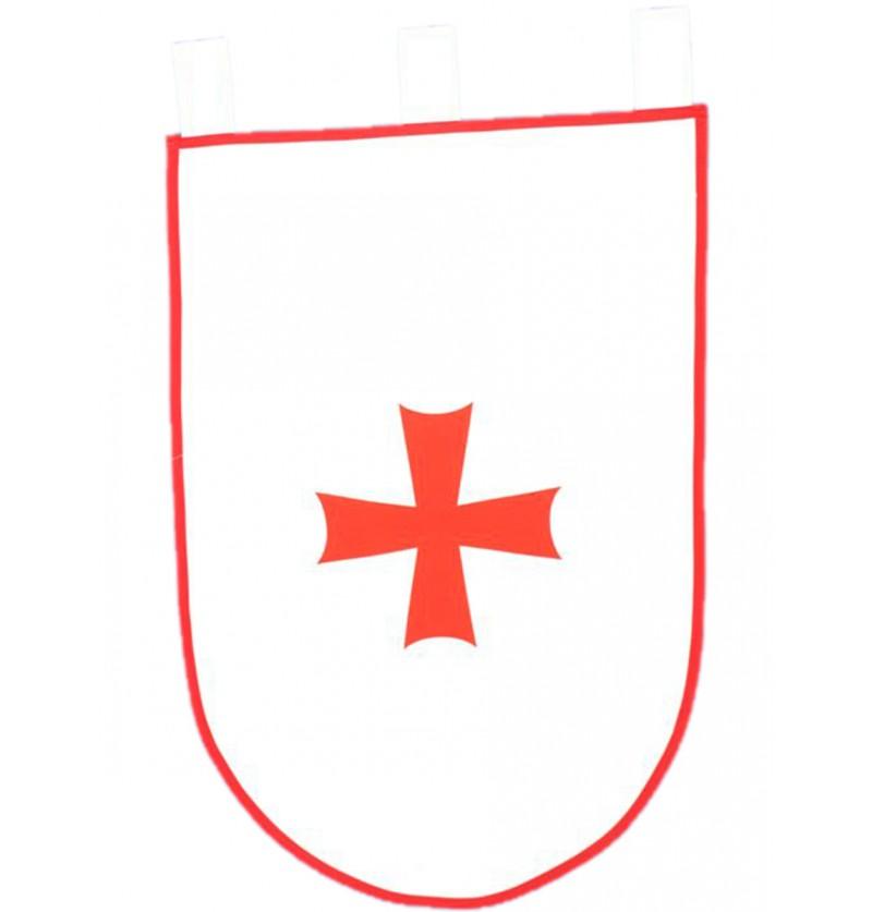Estandarte medieval para guerra 50 x 70 cm
