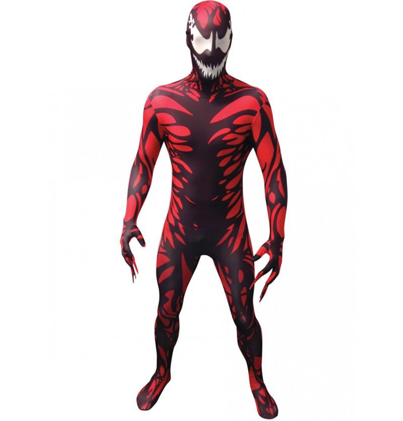 Disfraz de Carnage Morphsuit