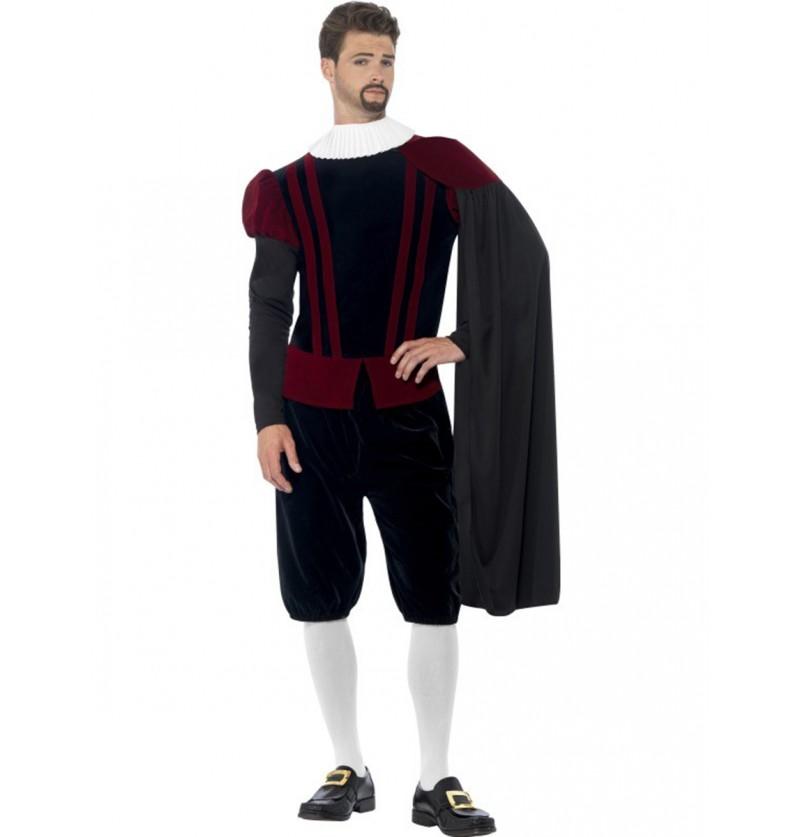 Disfraz de tudor el rey para hombre