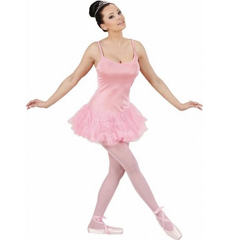 Disfraz de bailarina de ballet rosa