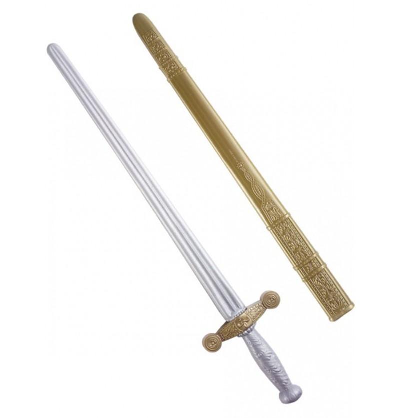 Espada de caballero plata y bronce