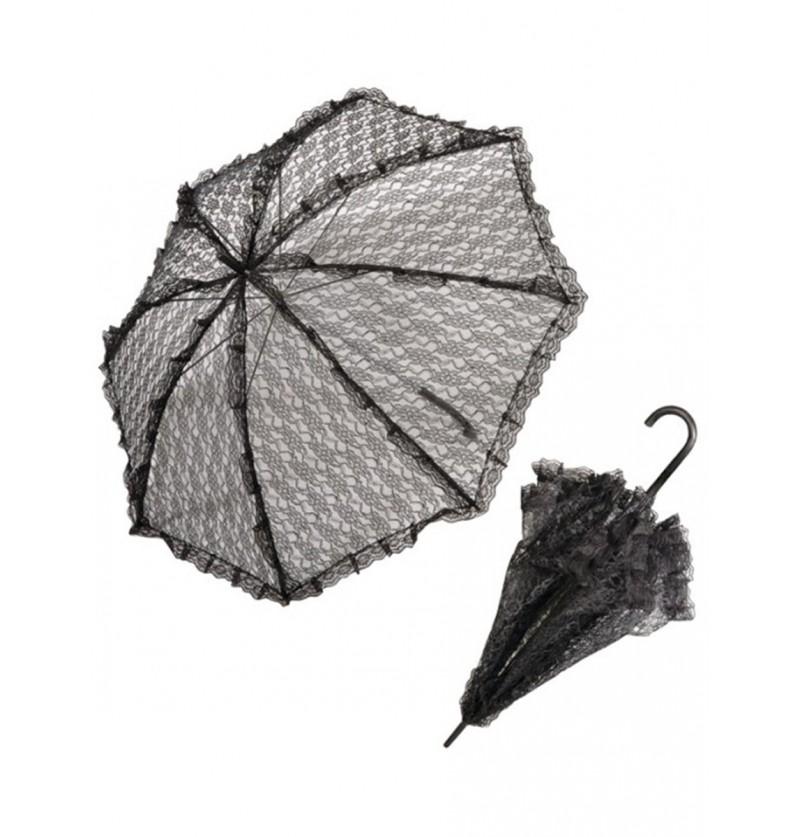 Paraguas de encaje barroco