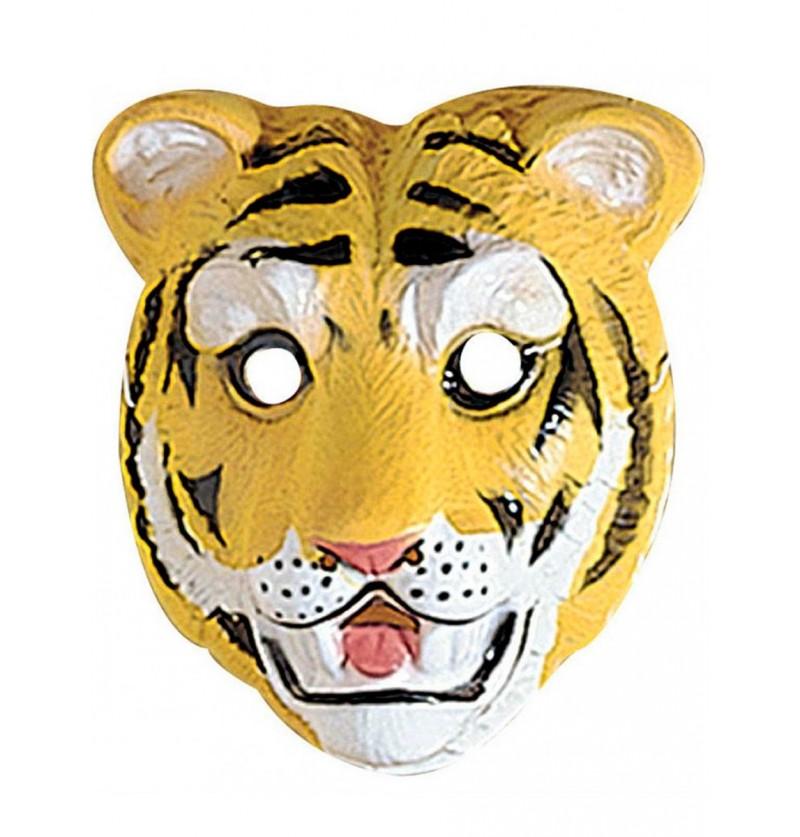 Careta de tigre infantil de plástico