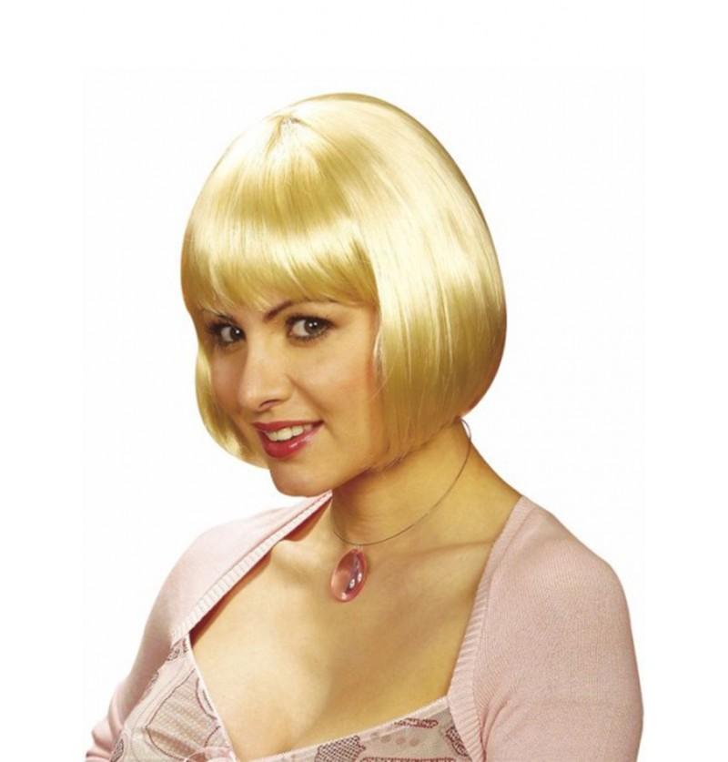 Peluca Michelle rubia