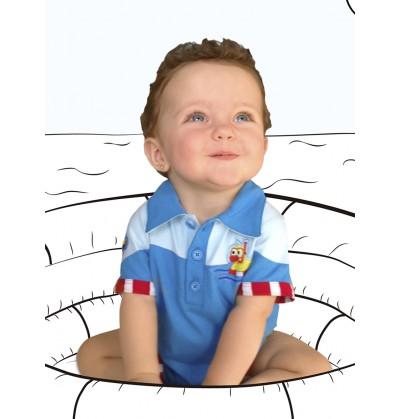 body patito marinero para beb