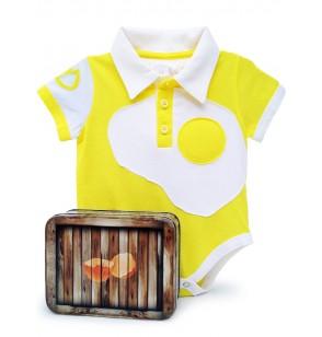 body huevo frito para beb