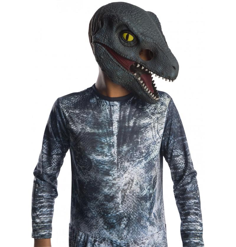 Máscara de Velociraptor Blue para niño - Jurassic World
