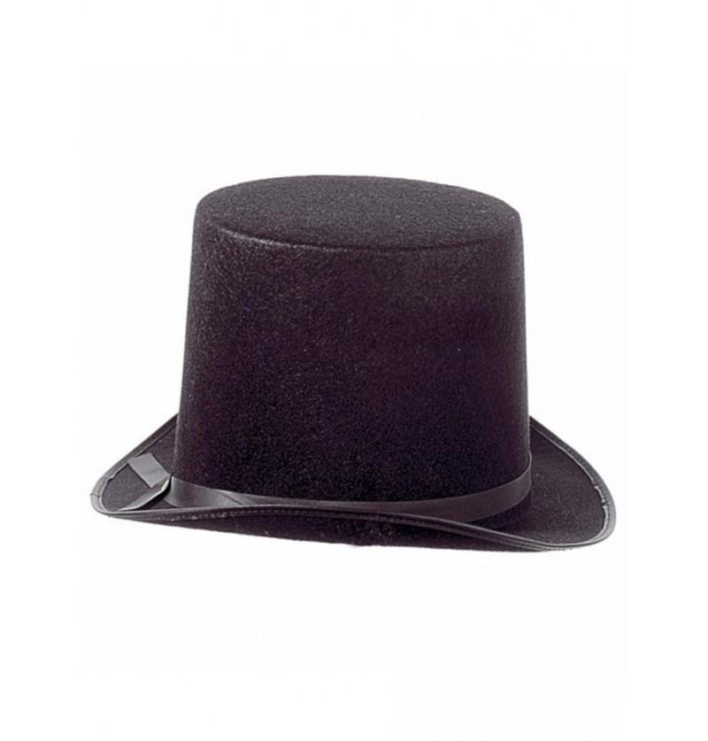 Maxisombrero de copa negro