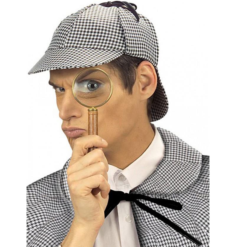 Sombrero de detective Holmes