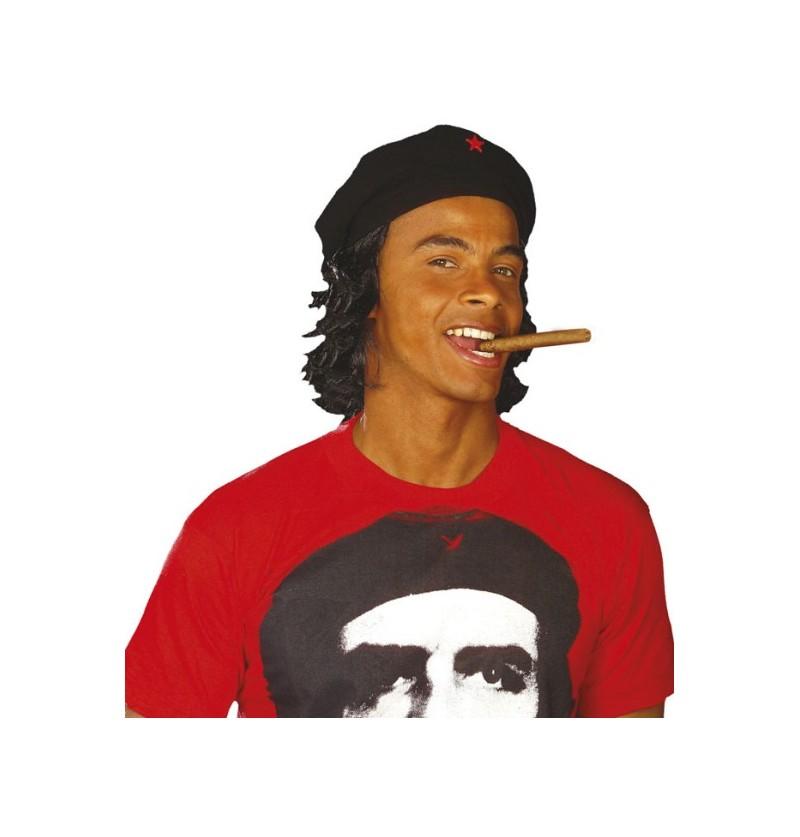Sombrero del Che con peluca