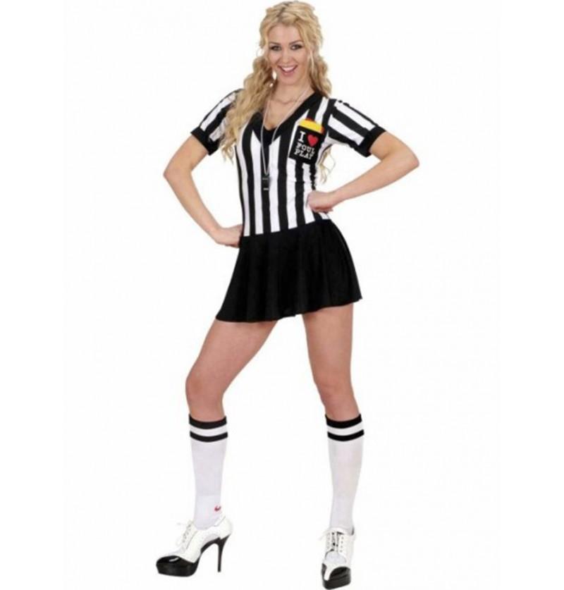 Disfraz de árbitro Classic para mujer