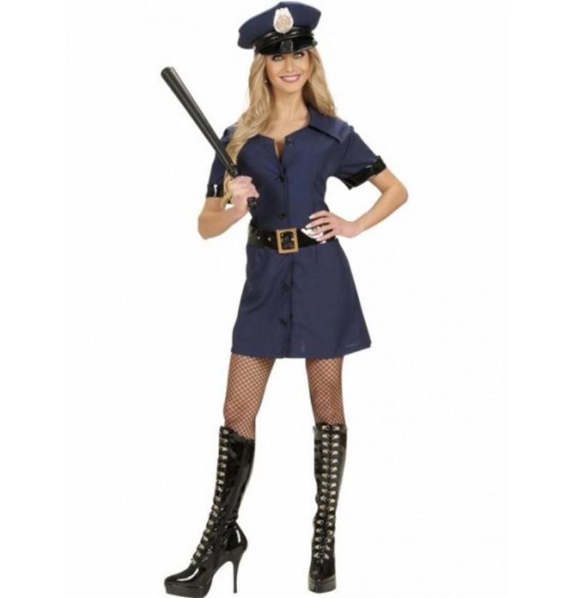 Disfraz de policía seductora para mujer
