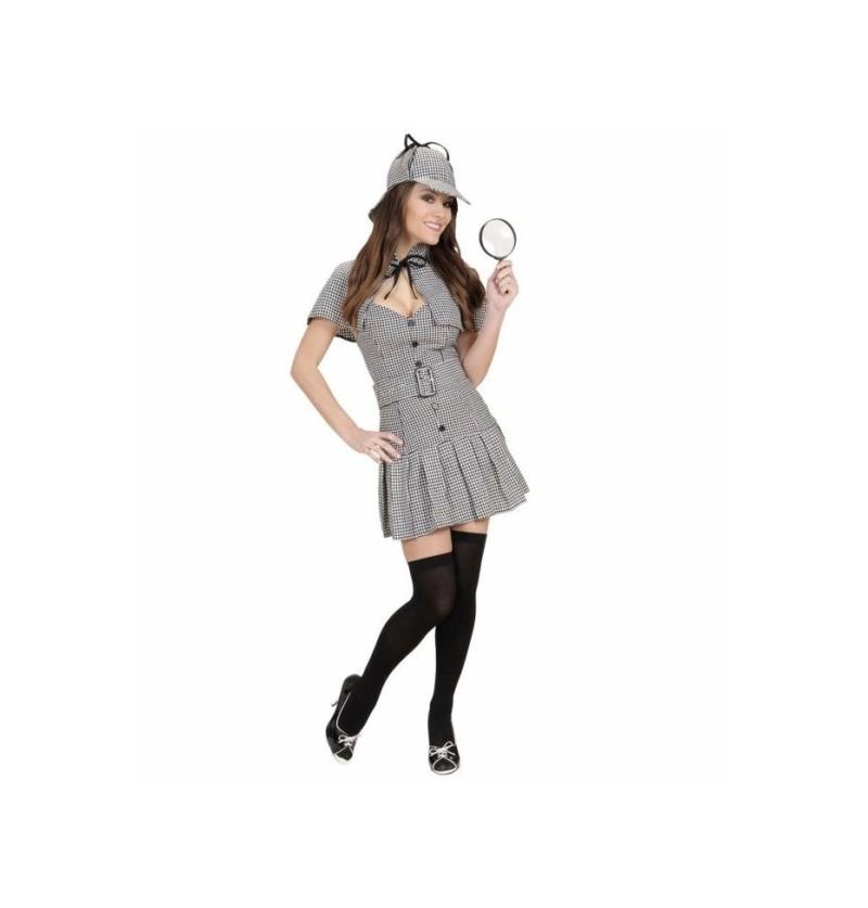 Disfraz de detective Sherlock para mujer
