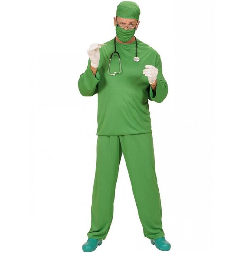 Disfraz de cirujano en quirófano para hombre