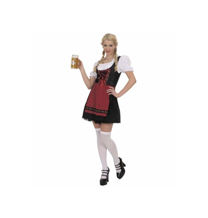 Disfraz de bávara camarera para mujer