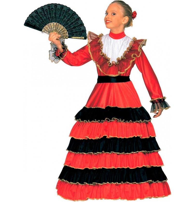 Disfraz de bailaora para niña