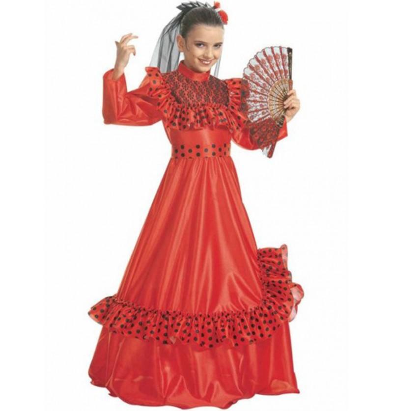 Disfraz de españolé para niña