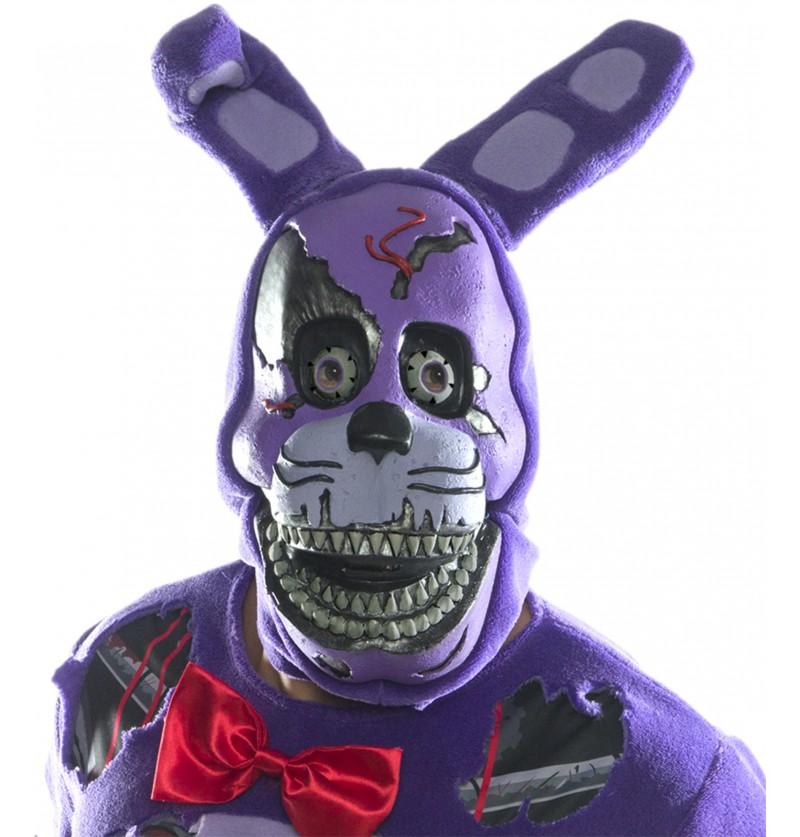Máscara de Nightmare Bonnie 3/4 para adulto - Five Nights at Freddy's