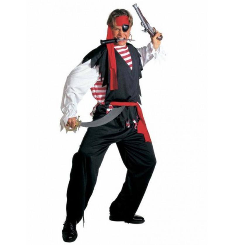 Disfraz de pirata de aguas bravas para hombre