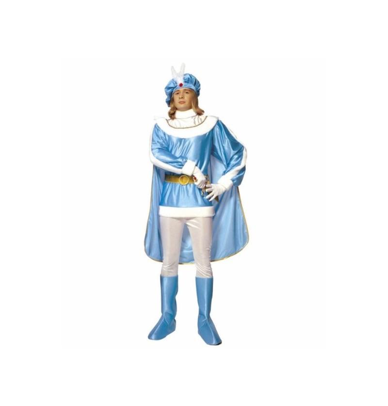 Disfraz de principe azul para hombre