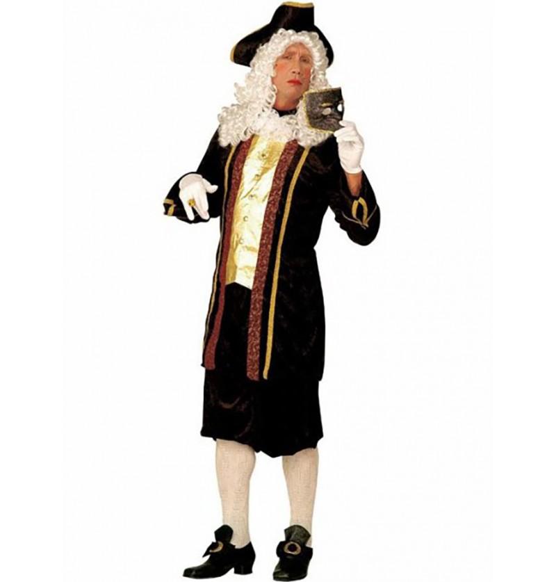 Disfraz de aristócrata veneciano para hombre