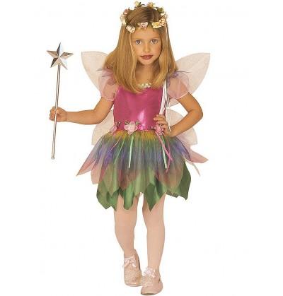 Disfraz de Hada Arcoiris para niña