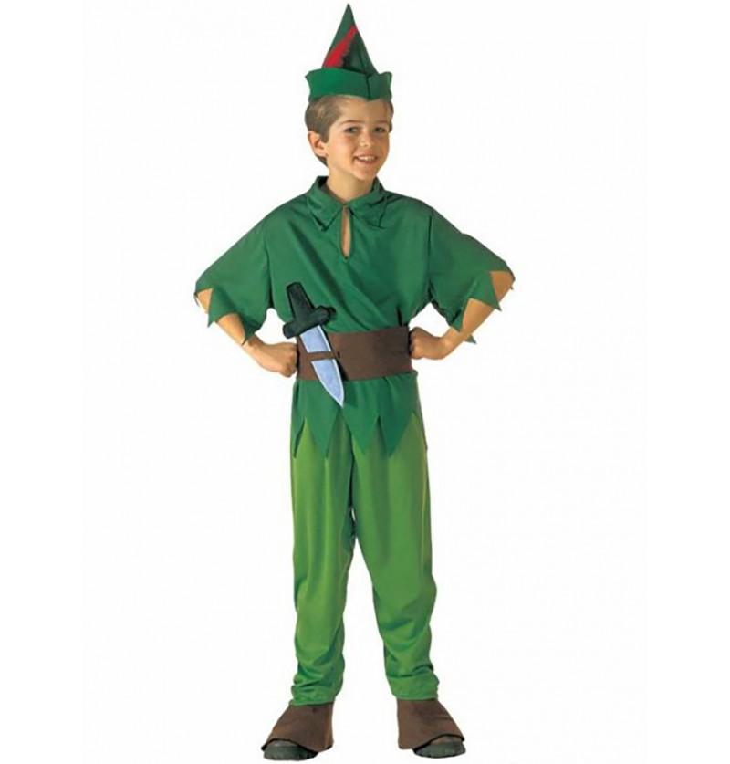 Disfraz de Peter Nunca Jamás para niño