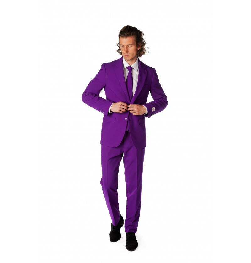 Traje Purple Prince Opposuit